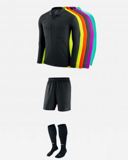 Pack Nike Arbitre officiel fff 3 maillots manches longues, short, chaussettes AA0736 AA0737 SX5728