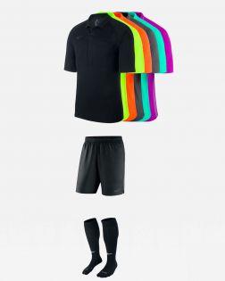 Pack Nike Arbitre officiel fff 3 maillots, short, chaussettes AA0735 AA0737 SX5728