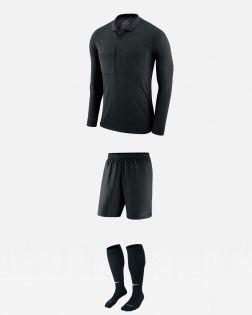 Pack Nike Arbitre officiel fff maillot short chaussettes AA0735 AA0736 AA0737