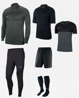 Pack Nike Arbitre officiel fff maillot short chaussettes survetement