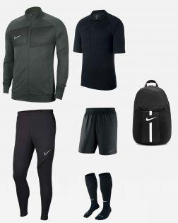 Pack Nike Arbitre officiel fff maillot short chaussettes survetement sac