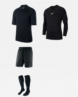 Pack Nike Arbitre officiel fff maillot sous-maillot short chaussettes AA0735 AV2609 AA0737