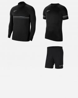 Pack Entrainement Nike Academy 21 Enfant maillot, short, survetement, veste, sweat, pantalon, parka