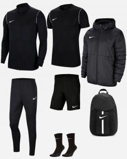 Pack Entrainement Nike Park 20 maillot, short,chaussettes, polo, survetement, sac, parka