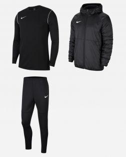 Pack Entrainement Nike Park 20 Enfant maillot, short, survetement, veste, sweat, pantalon, parka