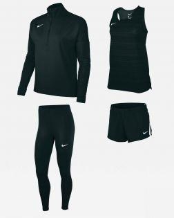 Pack Running Nike Dry Stock pour Femme NT0301-010 NT0304-010 NT0316-010 NT0314-010