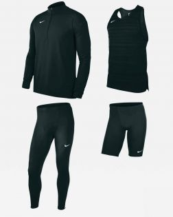 Pack Running Nike Dry Stock pour Homme NT0300-010 NT0307-010 NT0315-010 NT0313-010