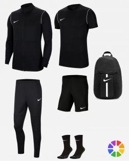 Pack Entrainement Nike Park 20 maillot,short,chaussettes,polo,survetement,sac,parka