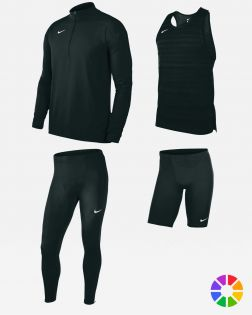 Pack Running Nike Dry Stock pour Homme NT0300 NT0307 NT0315 NT0317