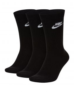 chaussettes nike sportswear everyday essential noires SK0109 010