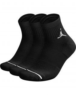 lot 3 paires chaussettes jordan everyday max noires SX5544 010
