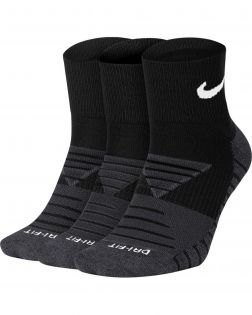 chaussettes nike everyday max cushioned noires SX5549 010