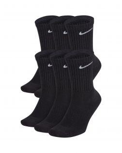 Lot de 6 paires de chaussettes Training Nike Everyday Cushioned Taille : M Couleur : Black/White Lot de 6 paires de chaussettes
