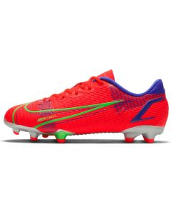 Chaussures de football Nike Jr. Mercurial Vapor 14 Academy FG/MG Rouges CV0811-600