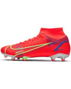 Chaussures de football Nike Mercurial Superfly 8 Academy MG Rouges CV0843-600