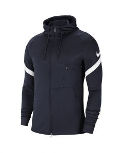 veste a capuche nike strike 21 bleu marine homme CW5865 451