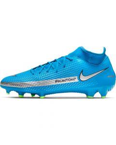 Chaussures de football Nike Phantom GT Academy Dynamic Fit MG Bleues CW6667-400