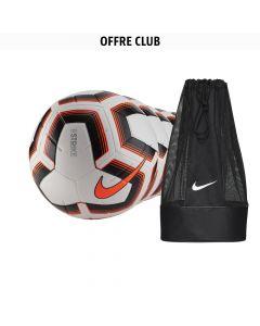 Lot de 22 ballons Nike Strike Orange + 1 sac à ballon Nike