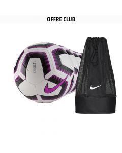 Lot de 22 ballons Nike Strike Violet + 1 sac à ballon Nike