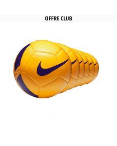 Lot de 24 ballons Nike Pitch Team Jaune
