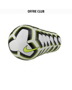 Lot de 24 ballons Nike Strike Jaune Fluo