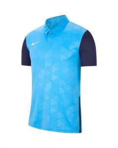 Maillot Nike Trophy IV bleu ciel et bleu marine pour homme