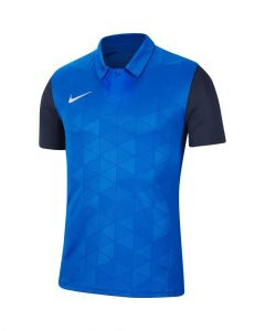 Maillot Nike Trophy IV bleu royal et bleu marine pour homme
