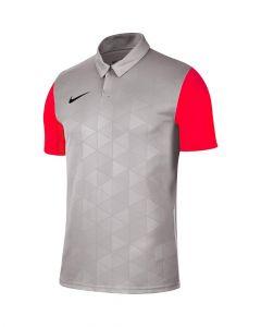 Maillot Nike Trophy IV gris et rouge crimson pour homme