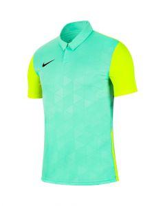 Maillot Nike Trophy IV vert d'eau et jaune fluo pour homme