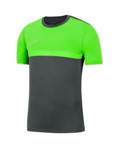 Maillot Nike Academy Pro anthracite et vert pomme pour homme