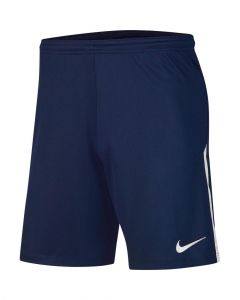 Short Nike League Knit II pour Homme Taille : M Couleur : Midnight Navy/White/White