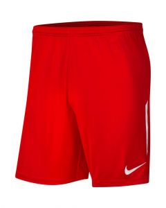 Short Nike League Knit II pour Homme Taille : L Couleur : University Red/White/White
