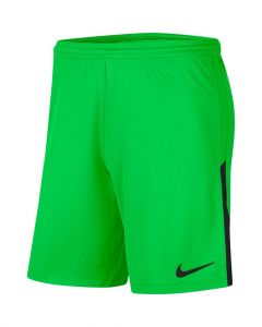 Short Nike League Knit II pour Homme Taille : S Couleur : Green Spark/Black/Black
