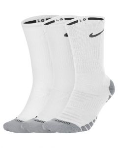 Lot de 3 paires de chaussettes Training Nike Dry Cushion Crew Training Taille : M Couleur : White/Wolf Grey/Black