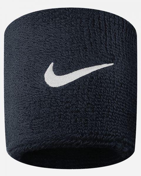 Lot de 2 serre-poignets Nike Swoosh Noirs AC2286-010