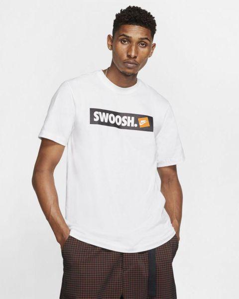 Tee-shirt Nike Sportswear Swoosh pour Homme AR5027