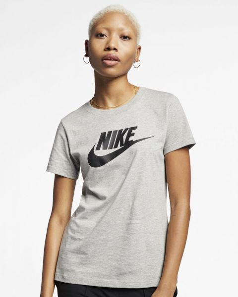 Nike Sportswear Essential Gris Tee-shirt pour femme
