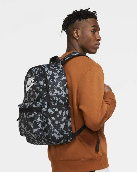 Sac à dos Nike Heritage Noir Camouflage CV0835-010