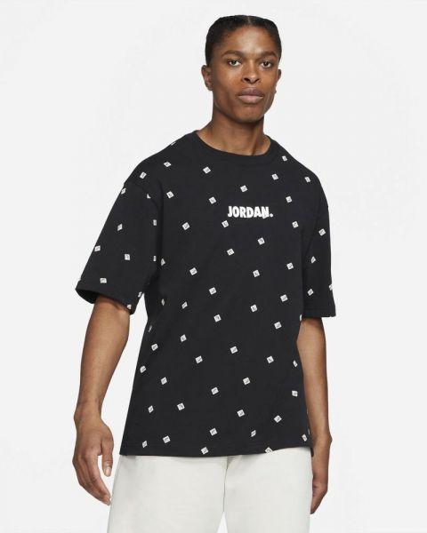 T-shirt Jordan Jumpman Classics Noir pour Homme CZ5185-010
