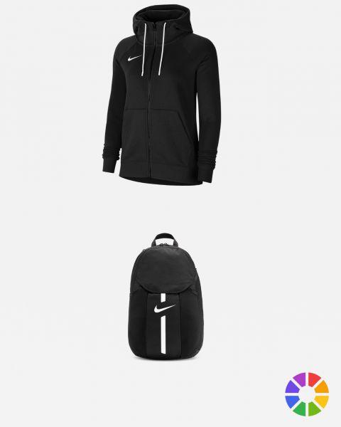 Pack Lifestyle Femme Team Club 20 Park 20 tee-shirt, polo, sweat, capuche, zip, short, pantalon, sac