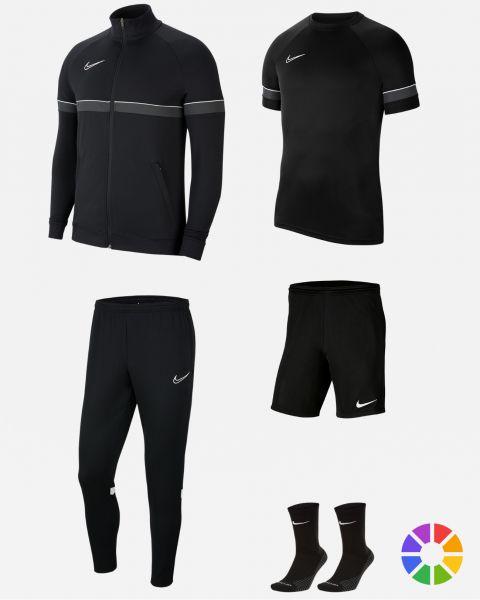Pack Entrainement Nike Academy 21 maillot, short, chaussettes, survetement, sac, parka