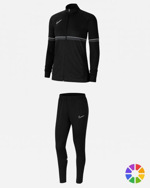 Pack Entrainement Femme Nike Academy 21 maillot, short, polo, veste, pantalon, sac, parka