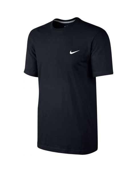 Tee-shirt Nike Embroidered Swoosh pour Homme Noir Tee-shirt pour homme