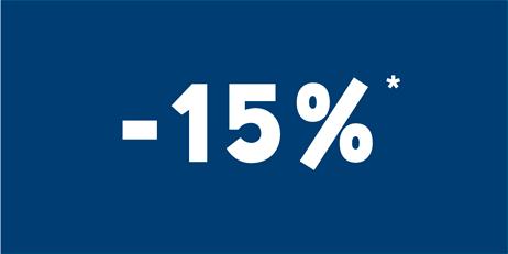 -15% toute l'année