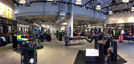 Nike Store Polygone - Interieur