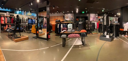 Nike Store Monte-Carlo - Interieur