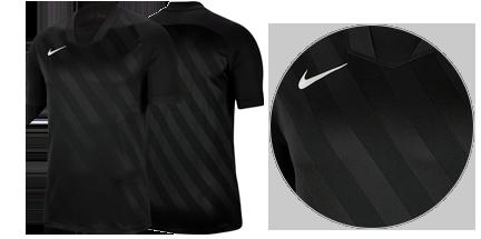 Découvrez les rayures diagonales du maillot Nike Challenge 3