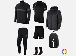 Découvrez nos packs Nike match, entrainement et lifestyle au meilleur prix. Ensembles et flocages pour les clubs.