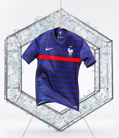 Nouveau maillot de l'équipe de France de football - Euro 2021