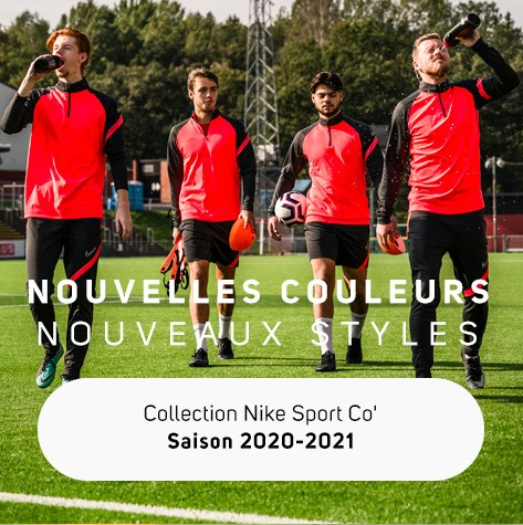 Nouvelle collection Nike Teamsport 2020-2021